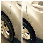 Scratch Repair Before & After